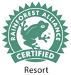 Logotipo de certificación de Rainforest Alliance