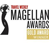 Travel Weekly Magellan Awards Gold Award Winner