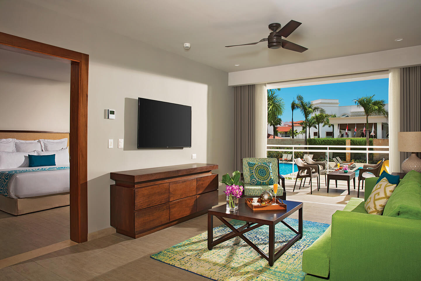 Preferred Club Two Bedroom Family Suite Tropical View