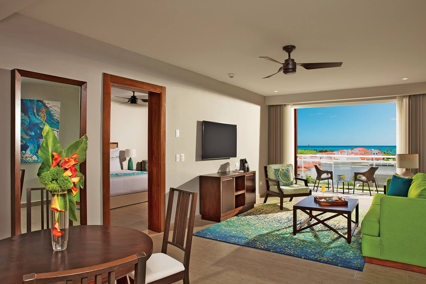 Preferred Club Three Bedroom Family Suite Tropical View