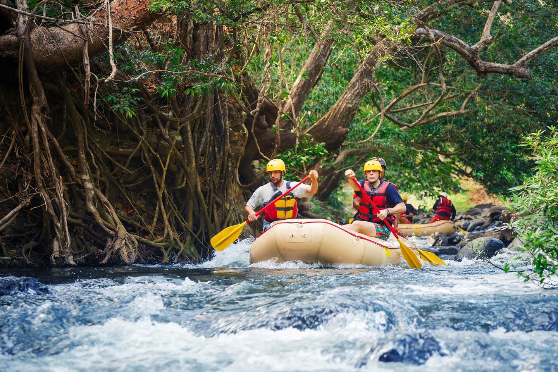 gentle rafting