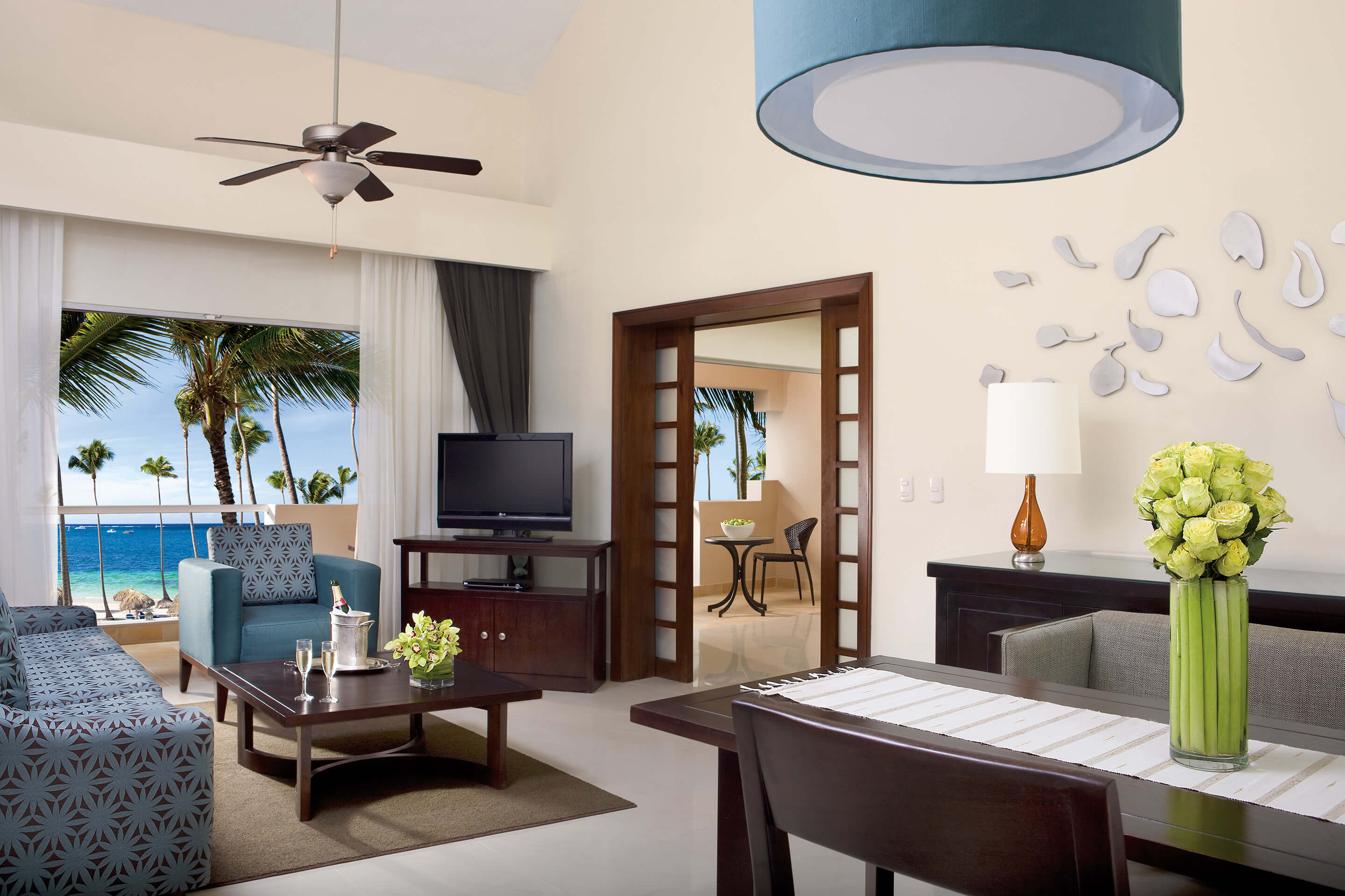 Dreams Palm Beach Habitaciones con Vista al Mar