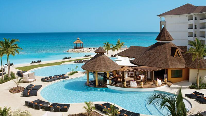 adults only luxury resort swimming pool