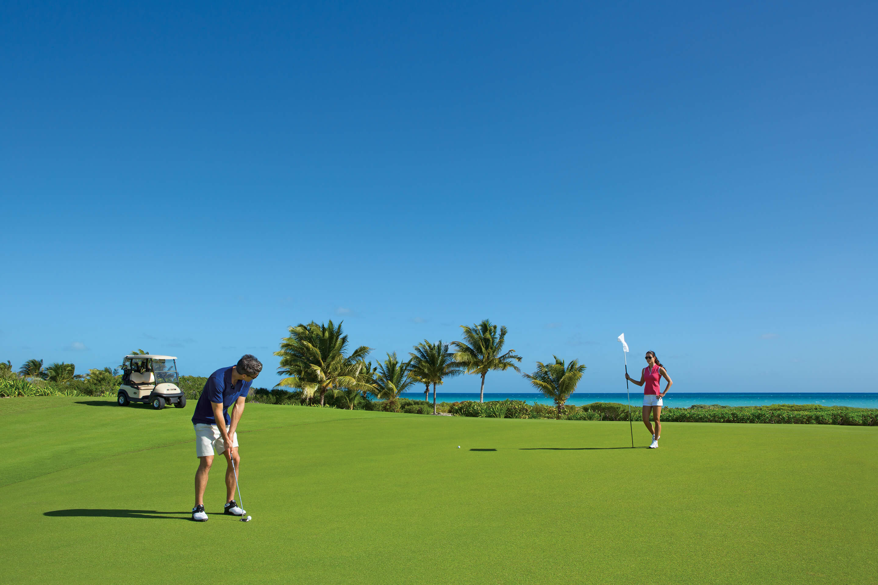Green Fees de cortesia no Playa Mujeres Golf Course