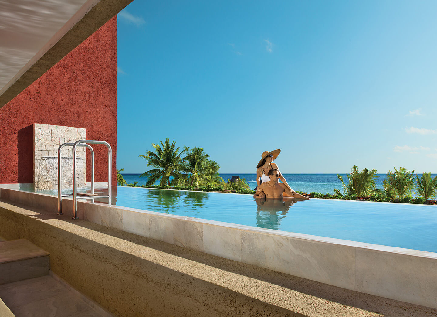 Impression™ Ocean Front Two Bedroom Presidential Suite with Private Pool