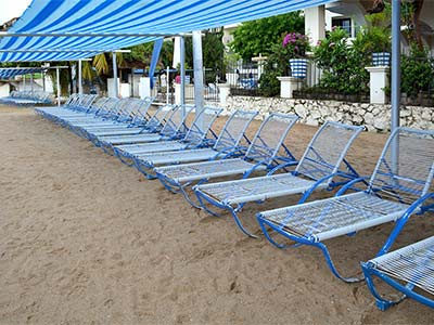 Camastros de Playa