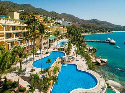 Fotograf as del hotel camino real acapulco diamante for Piscinas trobajo del camino