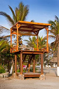 Beach - Tower with Lounge Chairs