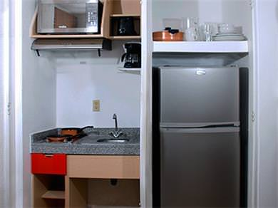 Room with Kitchenette - Kitchenette
