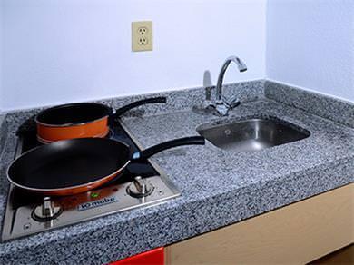 Habitación con Cocineta - Quemadores Eléctricos