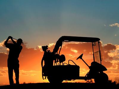 Golf - Sunset