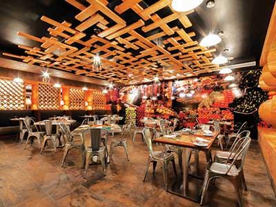 Marche Restaurant Palacio Mundo Imperial