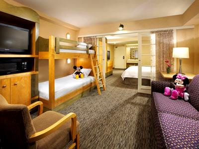 Kids Suite One King And Bunk Bed