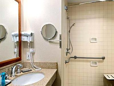 Accesible King Suite - Bathroom