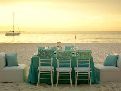 Facilidades Nupciales - Playa