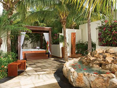 Spa - Terrace area