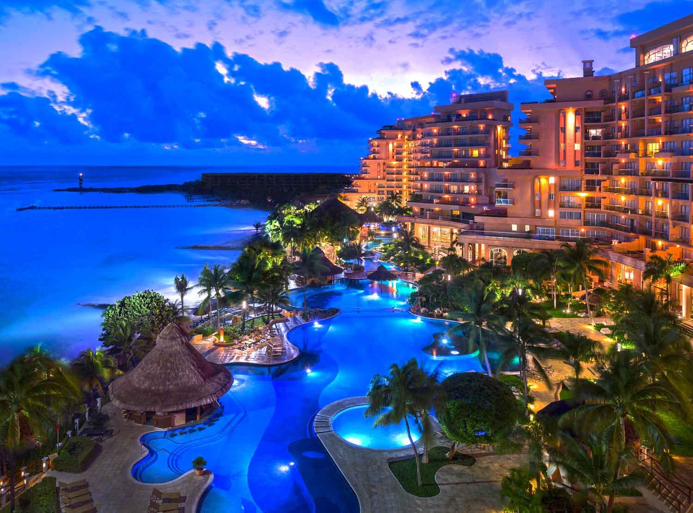 fachada Grand Fiesta Americana Coral Beach Cancún