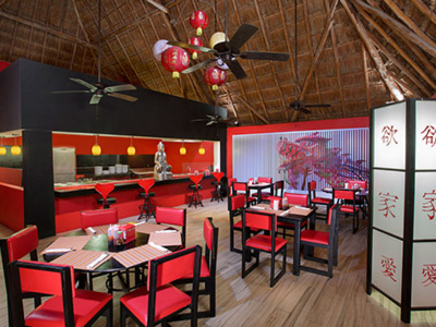 Chinese-Mexican fusion cuisine<br>Casual dress code