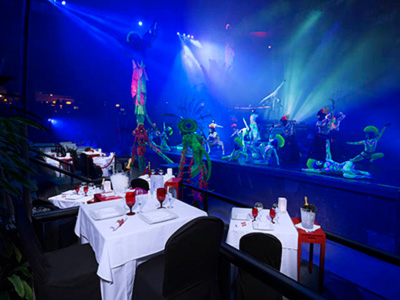 Restaurante Red Circus