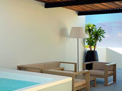 Finest Club Two Story RooftopTerrace Suite