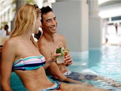 Tradewinds Pool and Swim-up Bar