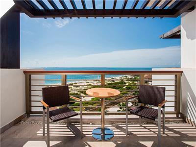 Junior Suite Vista al Mar - Terraza