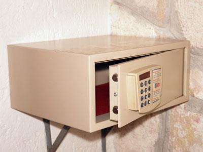 Caja de Seguridad en Habitación