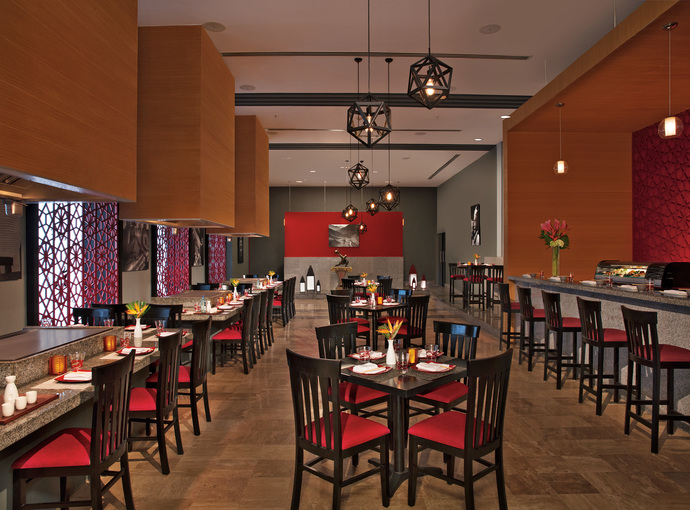 Restaurante Ayami Krystal Grand Cancún
