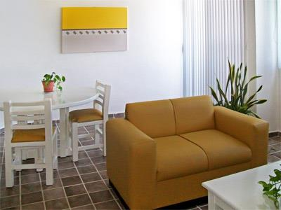 Suite de Dos Recámaras - Sala Comedor