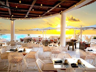 Restaurante Terraza Le Blanc Spa Resort