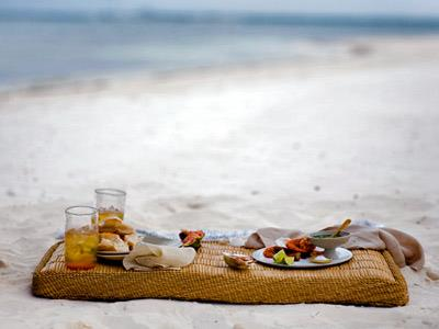 Snacks in the Beach