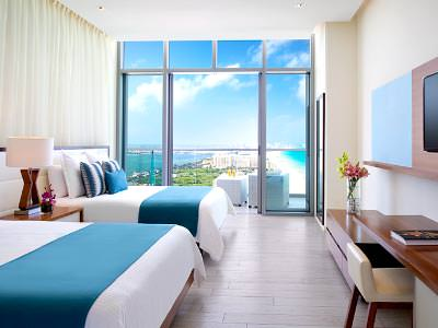 Deluxe Ocean View Double Beds