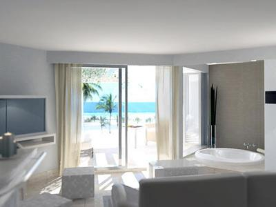 Junior Suite Vista al Mar con Jacuzzi Redondo
