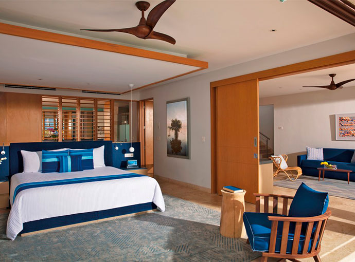 Preferred Master Suite Ocean Front Private Pool
