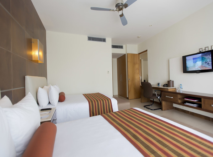 Suite One Bedroom with Two Beds