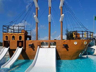 Aquapark - Barco Pirata