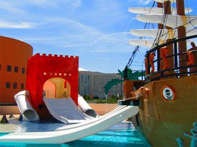 Piscina para Niños - Barco Pirata