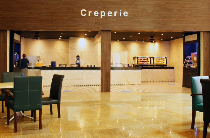Cafetería Creperie Seadust Cancun Family Resort