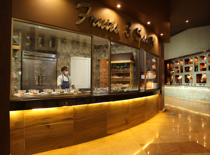 Restaurante Food Gallery Seadust Cancun Family Resort