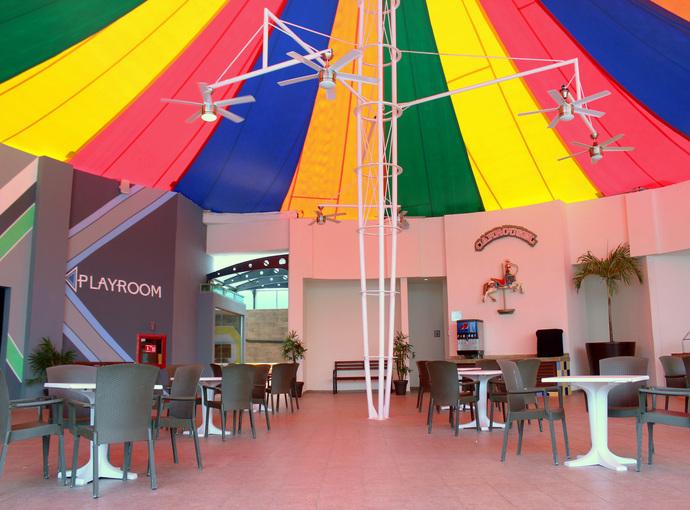 Carrousel Restaurant Seadust Cancun Family Resort