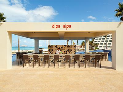 Dips and Sips Bar