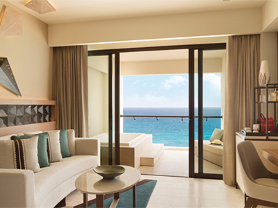 Turquoize Sky Master Suite King Frente al Mar
