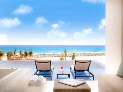 Turquoize Sky Swim up Master Suite Doble Frente al Mar