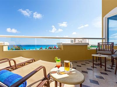 Gran Master One Bedroom Suite Ocean View - Terrace