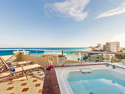 Gran Presidential Suite Ocean View or Ocean Front - Terrace