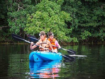 Kayak en Chakambakam
