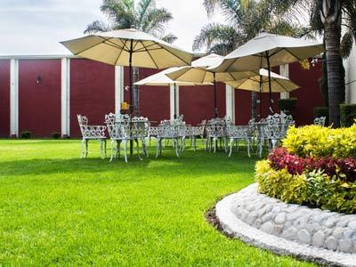 Hotel posada mar a sof a hotel en cholula puebla for Jardin 3 marias puebla