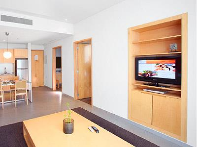Executive Suite - Sala de Estar Otra Vista