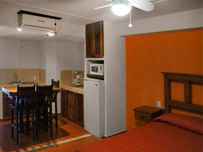 Habitación con Cocineta