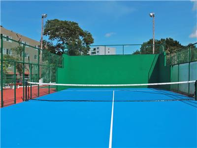paddel tennis court